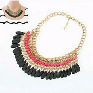 Boho Vibes statement necklace